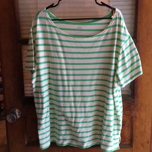 Boat neck t shirt old navy